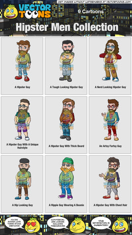 Hipster Men Collection