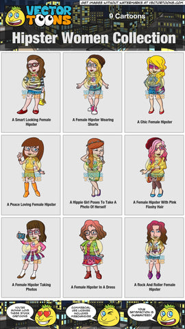 Hipster Women Collection
