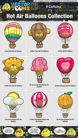 Hot Air Balloons Collection