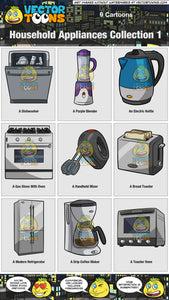 Household Appliances Collection 1