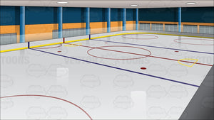 Ice Hockey Rink Background
