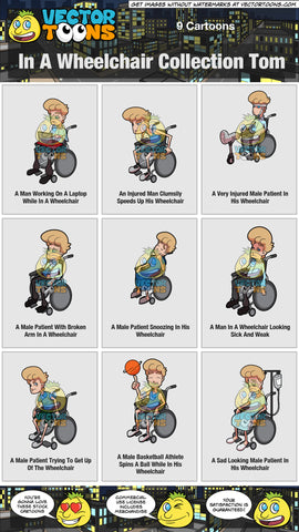 In A Wheelchair Collection Tom