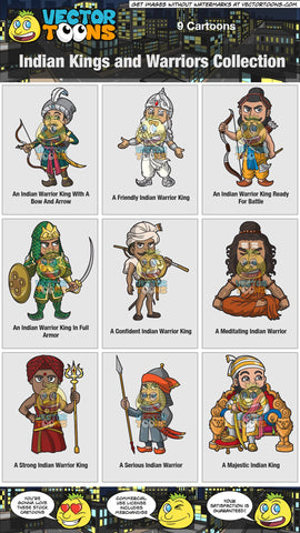Indian Kings And Warriors Collection