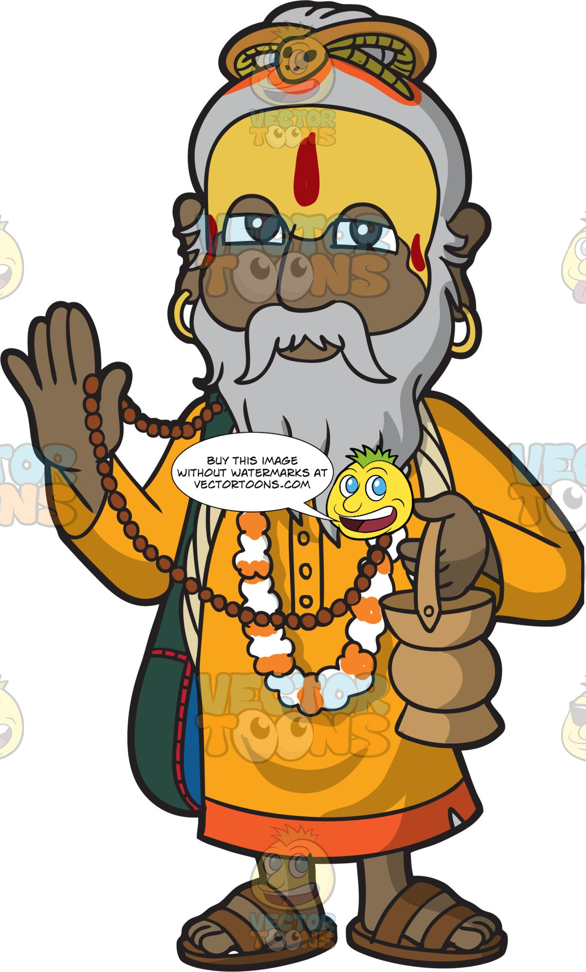 An Old Indian Priest