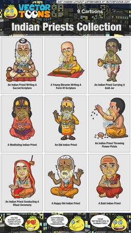 Indian Priests Collection