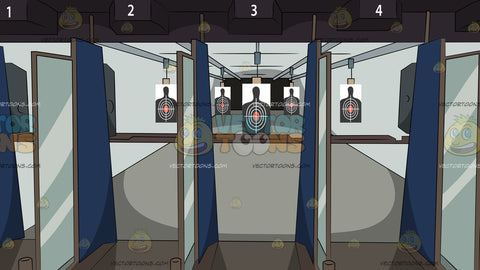 Indoor Gun Range Background