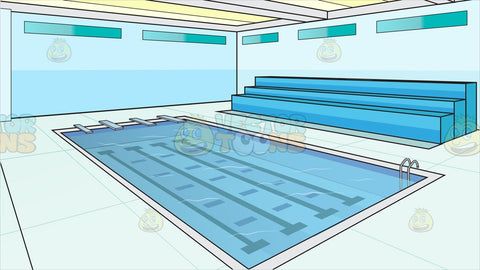 Indoor Olympic Size Swimming Pool Background