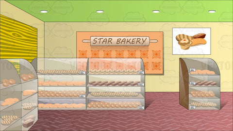 Inside A Bread Shop Called The Star Bakery