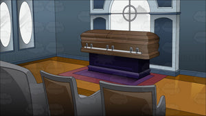 Inside A Funeral Home