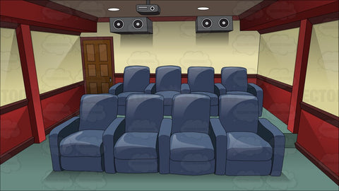 Inside A Modern Home Theater