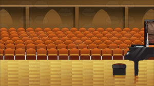 Interior Concert Hall Background