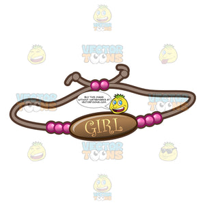 A Bracelet For A Baby Girl