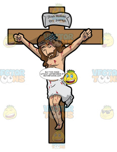 Jesus Christ Dying On The Cross