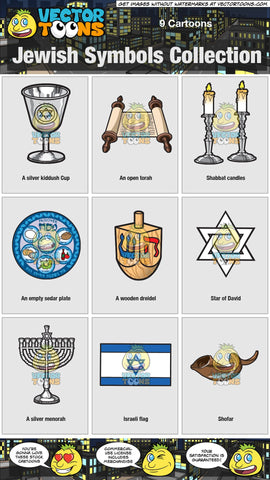 Jewish Symbols Collection