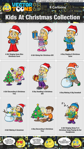 Kids At Christmas Collection