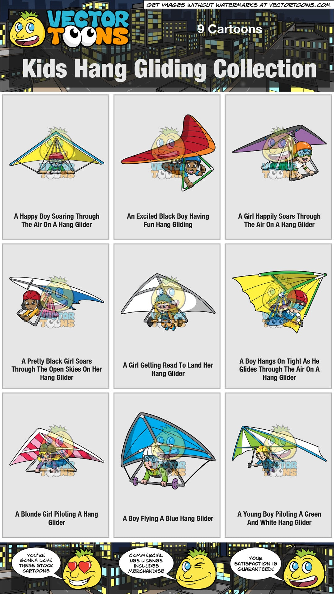 Kids Hang Gliding Collection