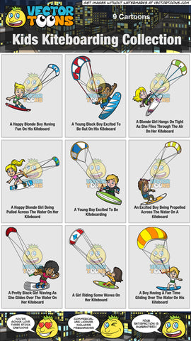 Kids Kiteboarding Collection