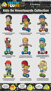 Kids On Hoverboards Collection