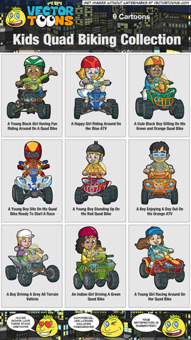 Kids Quad Biking Collection