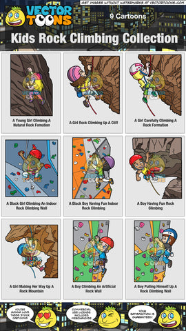 Kids Rock Climbing Collection