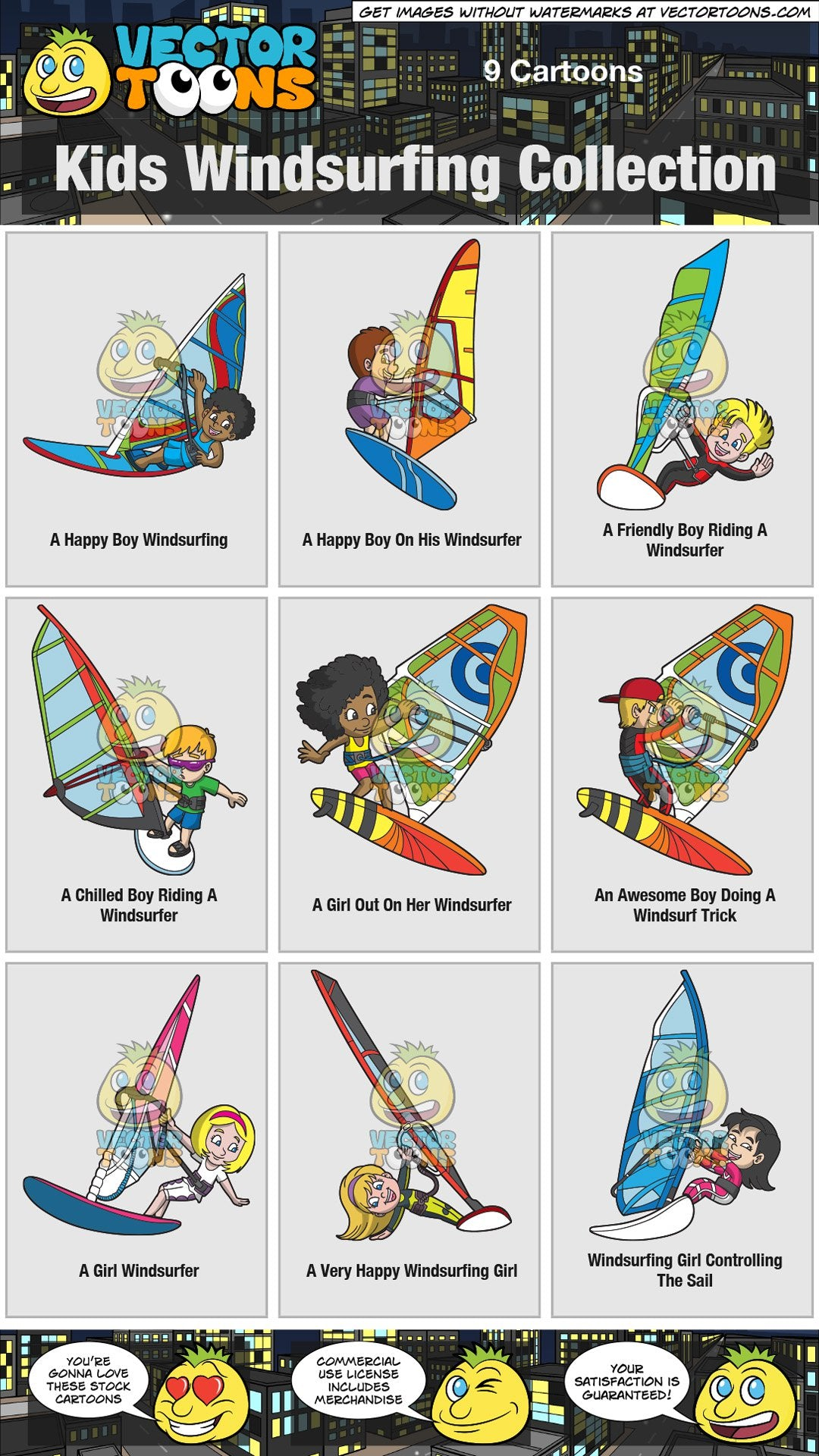 Kids Windsurfing Collection