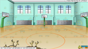 Kill Two Birds With One Stone and Indoor Basketball Court Background