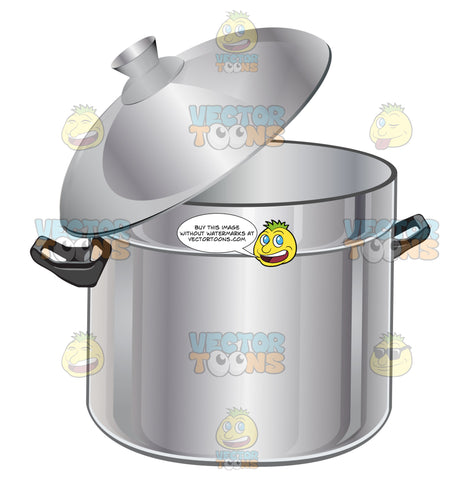 Stew Stockpot, Stainless Steel With Lid Askew
