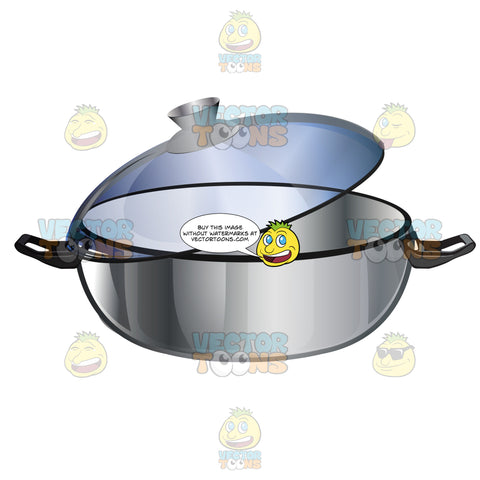 Dutch Oven Type Of Pan With Clear Lid