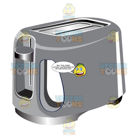 Silver Two Slice Toaster
