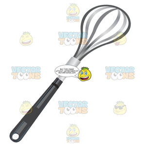 Whisk With Black Handle