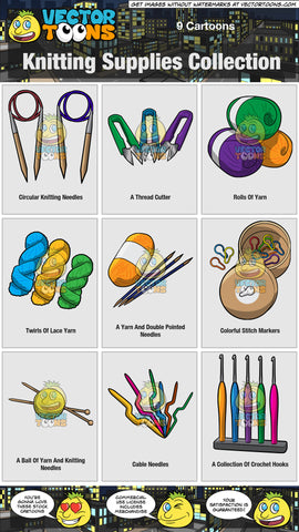 Knitting Supplies Collection