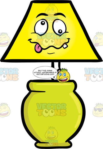 Looney Looking Table Lamp Fixture