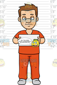 A Man Stands In Front Of A Height Chart For A Mug Shot
