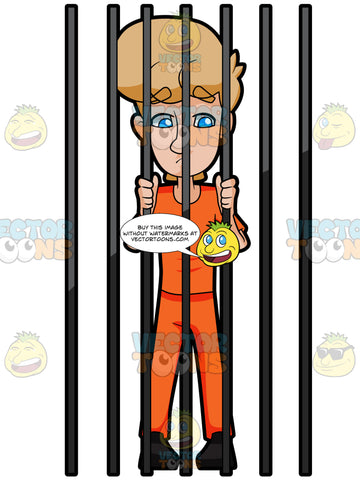 A Man Behind Bars