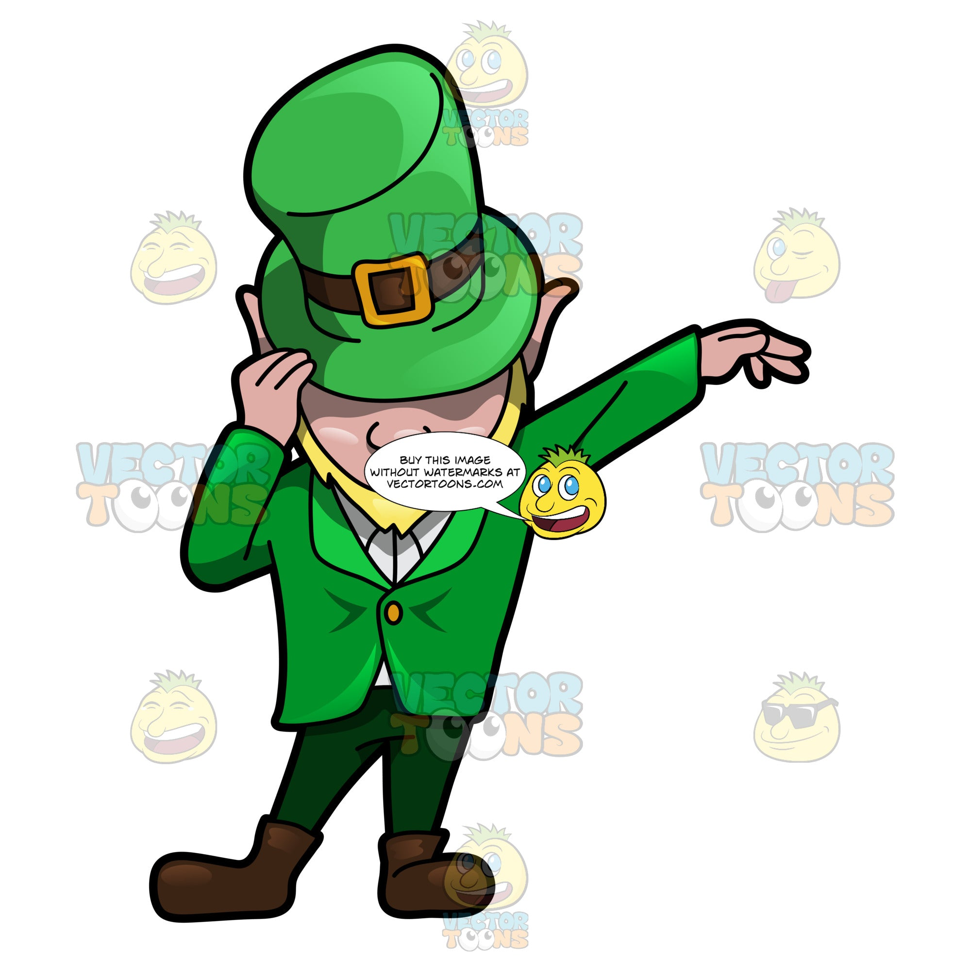 A Leprechaun Impersonating A Popular Pop Icon