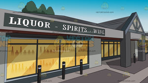 Liquor Boutique Background