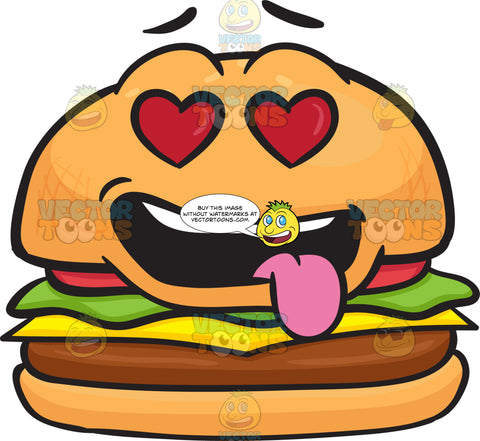 Love Struck Cheeseburger