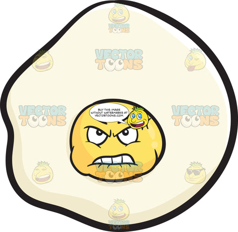 Mad And Bruised Sunny Side Up Egg Emoji