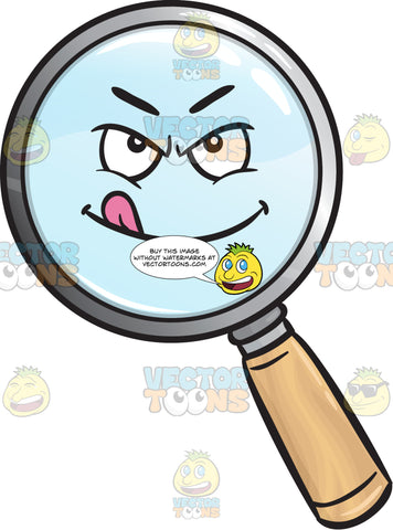 Ready To Rumble Magnifier Emoji