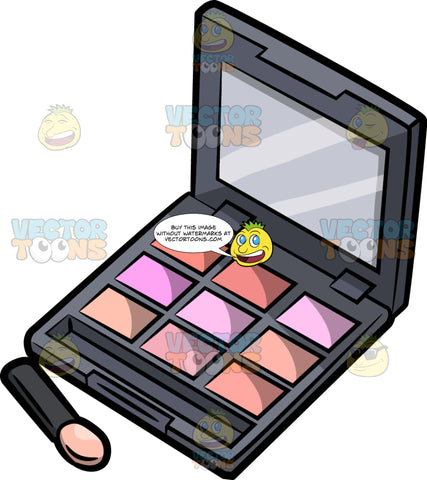 An Eye Shadow Compact Case
