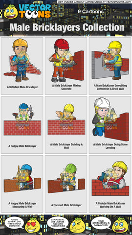 Male Bricklayers Collection