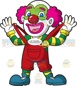 A Male Circus Clown
