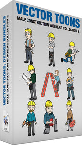 Male Construction Workers Collection 2