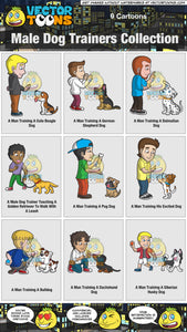 Male Dog Trainers Collection