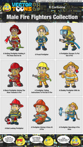 Male Fire Fighters Collection