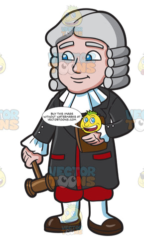 A British Barrister