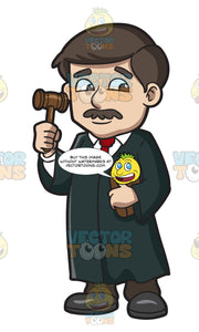A Judge With A Mallet