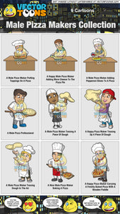 Male Pizza Makers Collection
