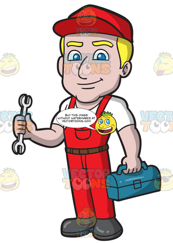A Confident Male Plumber