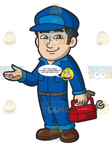 A Friendly Male Plumber